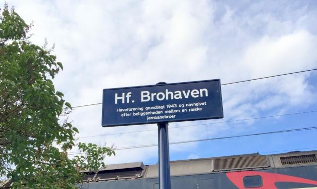 Brohaven skilt